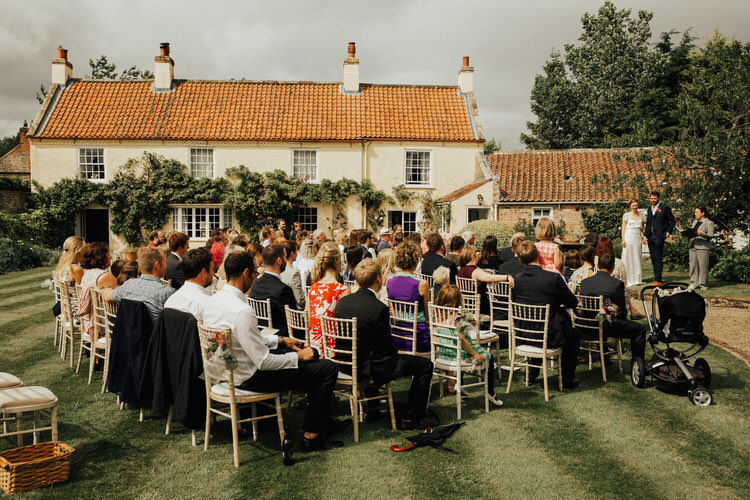 19 Handmade Vintage loving Back Garden Wedding in North Yorkshire by Patrick Phillips with a handmade
