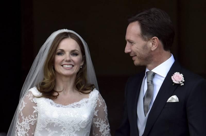 boda de Geri Halliwell5 - LAS FOTOS Y EL VÍDEO DE LA BODA DE GERI HALLIWELL
