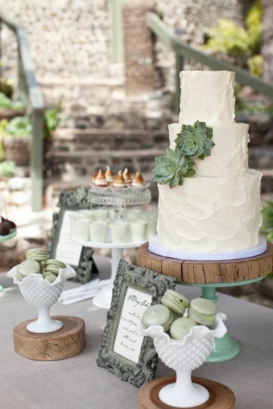 Como decorar mesas para bodas coordinadas con los colores de tu boda - Las Mesas de Dulces en las Bodas