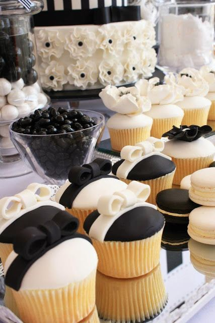 Mesas de dulces para bodas en blanco y negro littlebigco blogspot com au