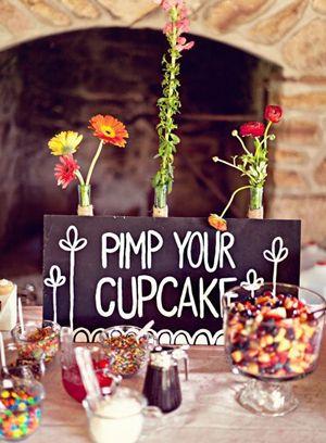 Una idea original para mesas de dulces para bodas
