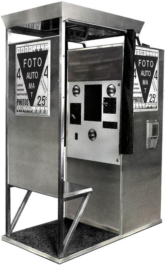 ¿Es el fotomatón un adelanto de cómo serán los eventos del futuro?