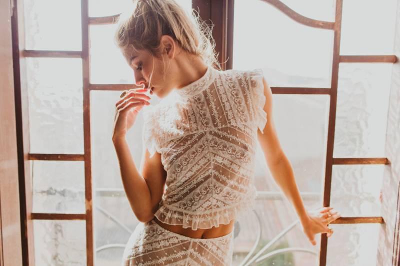 Colección de vestidos de novia Immaclé Barcelona 2017