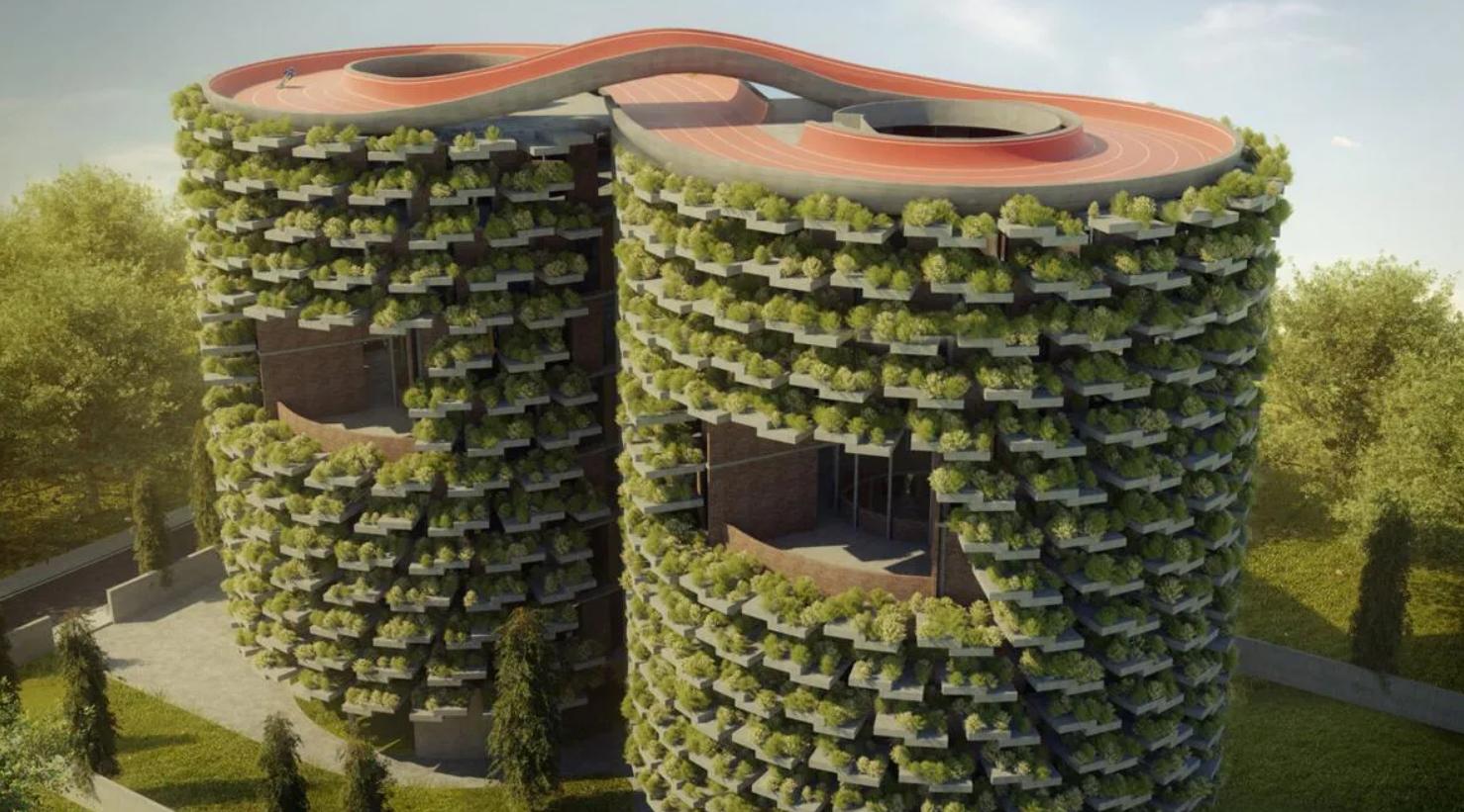Futuristas Y Ecológicas Escuelas Verdes: En La India - FLORES ONLINE SHOP MAGAZINE