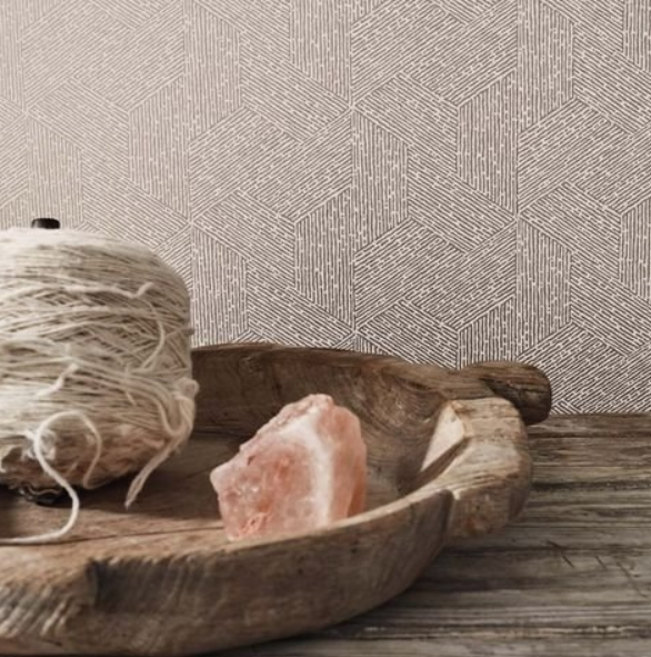 tendencias decoración interiores 2021: en papeles y telas triunfan los tonos neutros