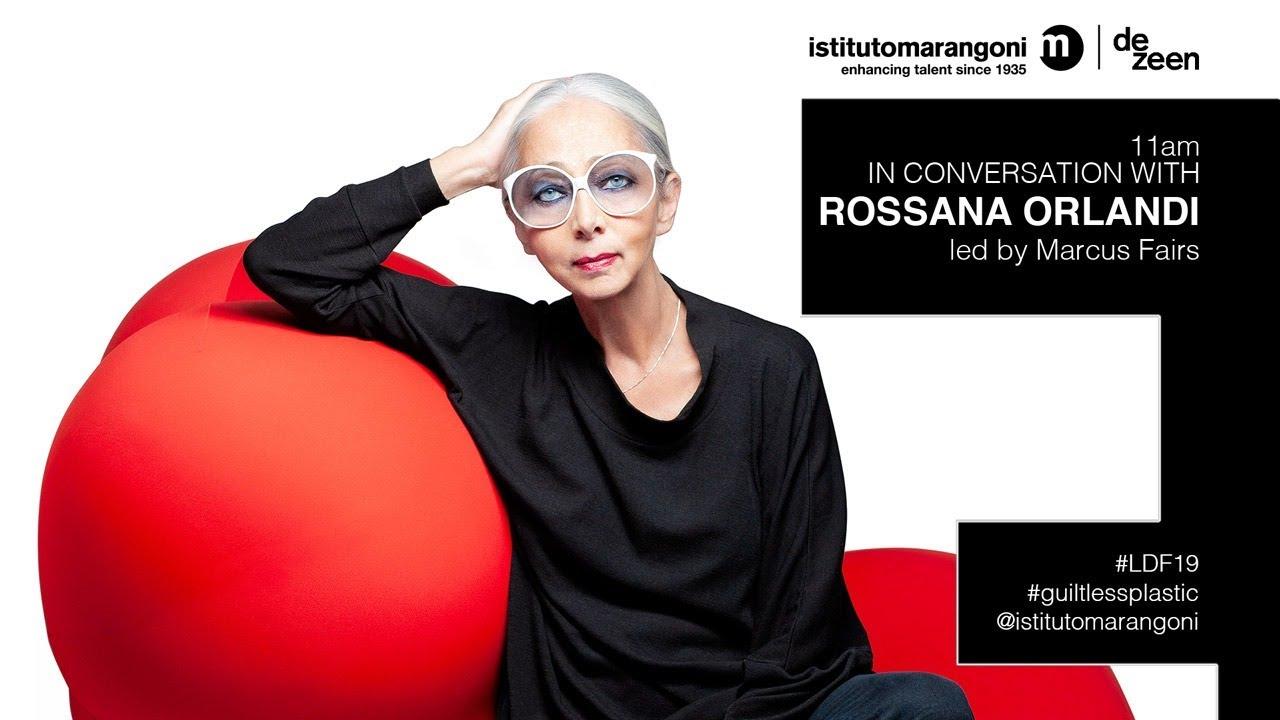 directo londres 19 sept rossana - DIRECTO LONDRES 19 SEPT - Rossana Orlandi Y el futuro del plástico
