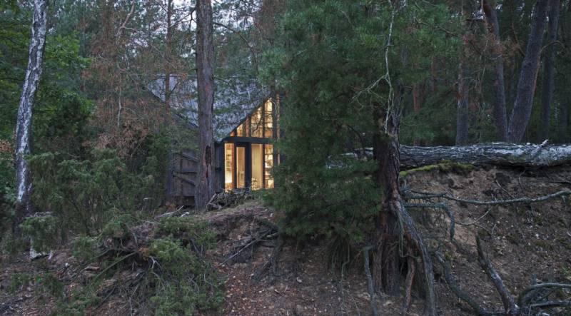 la cabaña perfecta para desconectarse - POLE Architects -la cabaña idónea para desconectarse