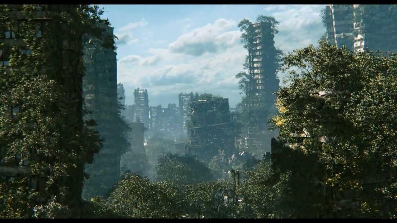 ruin nos muestra el apocalipsis - RUIN nos muestra el apocalipsis online más verde en una animación 3D